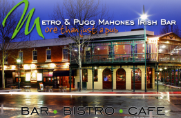 THE METRO & PUGGS IRISH BAR – BENDIGO